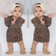 Baby Girl Animal Print Clothes - Then shopping for toddler girl clothes is probably one of the most favorite pursuits, in Fashion Kids, Baby Girl Fashion, Toddler Fashion, Coco Fashion, Baby Outfits, Toddler Outfits, Kids Outfits, Baby Kind, My Baby Girl