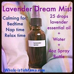 Lavender Dream Mist (from Dr. Josh Axe's facebook page)
