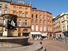 Toulouse ~ France ~  A city that is very rich in history.  It is also home to France's contribution to aerospace technology.  This city boasts churches, convents, The AirBus factory and more.