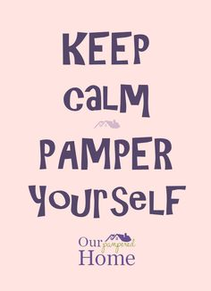 Remember to pamper yourself! Great Deals, Home Kitchens, Beauty Makeup, Makeup, Gorgeous Makeup, Beauty Makeover