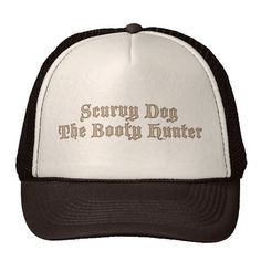 Scurvy Dog The Booty Hunter Trucker Hats Turkey Hat 803c8bc14a50