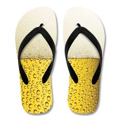 Beer flip flops for beer lovers :)