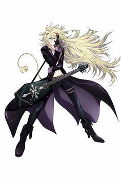 Show By Rock!! TV Anime: Kouki Uchiyama (Soul Eater Not!, Nisekoi) as Aeon, the guitarist  (Apr 2015) #sanrio