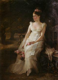 The Debutante (1886) by Edward Hughes