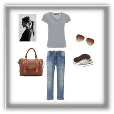 """""""Chill Weekend"""" by mdharding on Polyvore"""