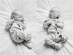 lifestyle newborn session by Jen Herem Photography