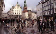 peatonal Strøget - Copenhague