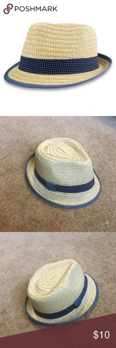 Baby Boys' Straw Fedora Adorable baby boy fedora! New without tag, never been worn. Cat & Jack Accessories Hats