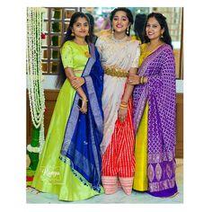 """KANYA on Instagram: """"Sister squad... Photography:@prashanth.bhardwaj #kanyabyswethaprajwal #kanyaclothing #fascinateblouses #chicethnics #blousehub…"""" Anita Dongre, Manish Malhotra, Lehenga Designs, Sabyasachi, Sari, Bridesmaid, India, Fashion Design, Wedding"""