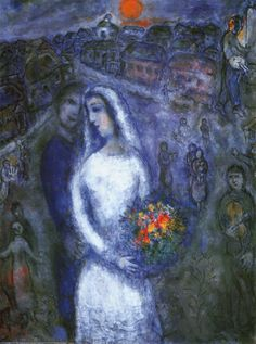 Marc Chagall - Le Couple