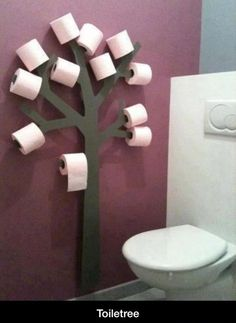 dispensador de papel higienico decorativo