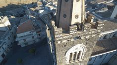 chiesa di san martino Randazzo provincia di catania rilievo topografico e ripresa drone. www.studioscalisi.com. geom carmelo e ANGELO SCALISI