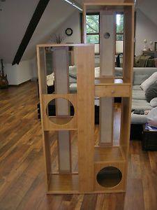 aus einem expedit regal von ikea einen individuellen kratzbaum bauen katzenm bel selber. Black Bedroom Furniture Sets. Home Design Ideas