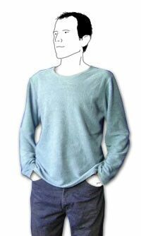 Men Clothing free cut pattern mens pullover Men ClothingSource : kostenloses schnittmuster herren pullover by kleinsimon Sewing Men, Love Sewing, Sewing Clothes, Learn Sewing, Men Clothes, Easy Sewing Projects, Sewing Tutorials, Sewing Patterns Free, Clothing Patterns