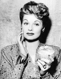 Lucille Ball. so gorgeous.