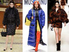La doudoune Fashion Week, Duster Coat, Kimono Top, Jackets, Tops, Women, Fall Winter 2015, Trending Fashion, Fashion Ideas