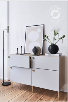 Buy new storage furniture legs for IKEA Furniture Legs, Furniture Makeover, Decor Scandinavian, Ikea Cabinets, Home Decor Accessories, Cheap Home Decor, Interior Inspiration, Room Decor, Storage
