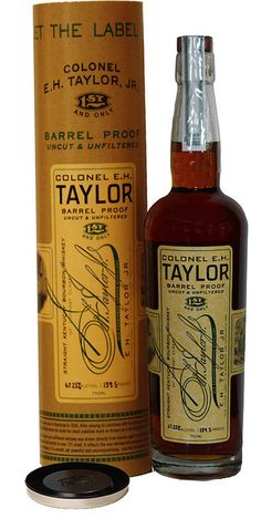 Buffalo Trace Distillery Releases Colonel E. H. Taylor, Jr. Barrel Proof Bourbon Whiskey