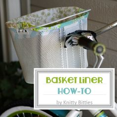 Basket Liner / How-To