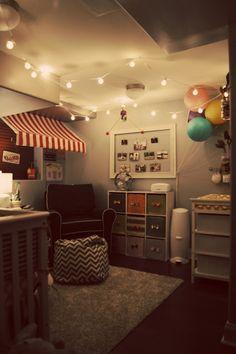 ◦ Pencils, Fabric + Our Cozy Nest ◦: Carnival Nursery