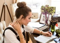 louise roe #working table -  plain jane -  #dream job  #louise roe -  #lady -  style -  #fashion