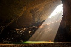 Hang Son Doong river caves in Quang Binh province, Vietnam. Photo: Alamy
