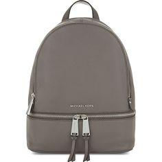 Michael Kors Women's Rhea Cinder Small Zip Backpack