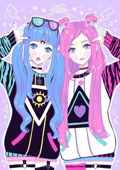 ~Kawaii Anime Girls Goth~