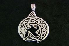 Salmon of Knowledge pendant: Sean's Celtic Creations. Includes a Pacific Northwest Influence as well; beautiful!