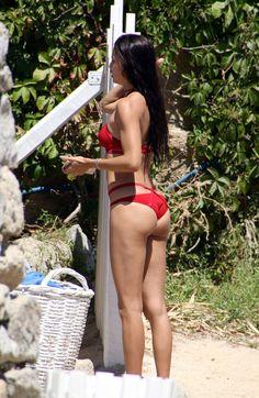 Adriana Lima bikini booty
