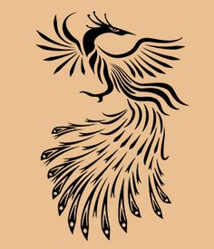 Tribal Phoenix Artistic Tattoo