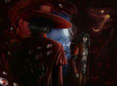 """Alucard from """"Hellsing"""" vs Dracula from """"LOS 2"""""""