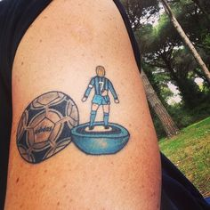 Subbuteo tattoo (with Tango)