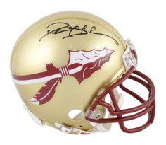Deion Sanders Autographed Mini Helmet #SportsMemorabilia #FloridaStateSeminoles