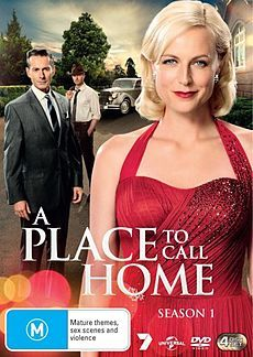 Marta Dusseldorp - beautiful Australian actress - here in ABC miniseries - A place to call home - Season 1