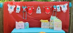 Thing 1 Thing 2 Baby Shower Party Ideas   Photo 4 of 14   Catch My Party