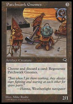 Patchwork Gnomes - Tempest