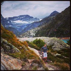 Twee dagen voor de race loslopen bij Lac d'Emosson #Trailrunning #Salomon #TeamScarabee #Julbo #NKBV