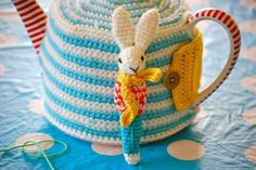 Greedy For Colour: crochet bunny | tea cosy