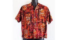 """""""REYN'S Men's Wear Hawaiian Islands"""" cotton"""