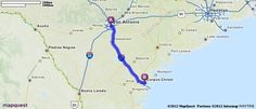 Driving Directions from San Antonio, Texas to Corpus Christi, Texas | MapQuest