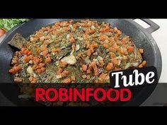 ROBINFOOD / Ensalada de crema de sardinas + Rodaballo con limón, tomate y alcaparras