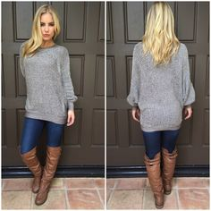 Soft Around The Edges Knit Sweater