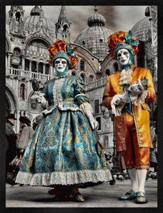 The Carnival of Venice  is a festival that's steeped in history, vibrant colors, outlandish costumes, spectacular masks and of cour...