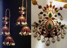 Jewellery Designs: Earrings and Pendant