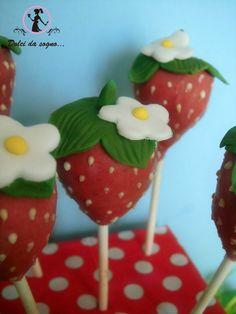 Dolci da sogno...cake pops fragola