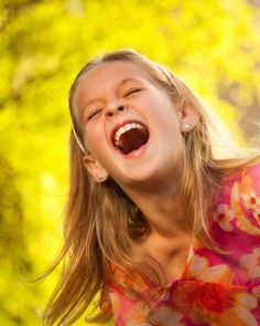 ♥Nothing better than a childs laughter.