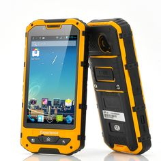 "Military Standard Rugged Android 4.1 Phone ""Rhino"" - 4.3 Inch Screen, Waterproof, Shockproof, Dustproof, 8MP Camera"