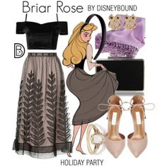 DisneyBound is meant to be inspiration for you to pull together your own outfits which work for your body and wallet whether from your closet or local mall. As to Disney artwork/properties: ©Disney Cute Disney Outfits, Disney Princess Outfits, Disney Themed Outfits, Disney Bound Outfits, Disney Dresses, Cute Outfits, Kida Disney, Estilo Disney, Disney Inspired Fashion