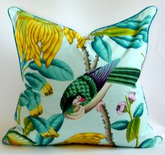 Manuel Canovas Serendip Pillow Cover by WestEndAccents on Etsy, $110.00